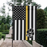 Thin Line K9 Unit Garden Flag