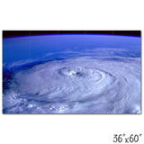 Hurricane Seen From Space - 1