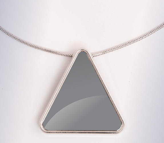 Custom Jewelry - Necklace Triangle (TR) - Bo15 | Custom Shirts | Custom Gear | Design Your Own