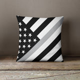 Thin Line Pillows - Angled Flag - Bo15 | Custom Shirts | Custom Gear | Design Your Own