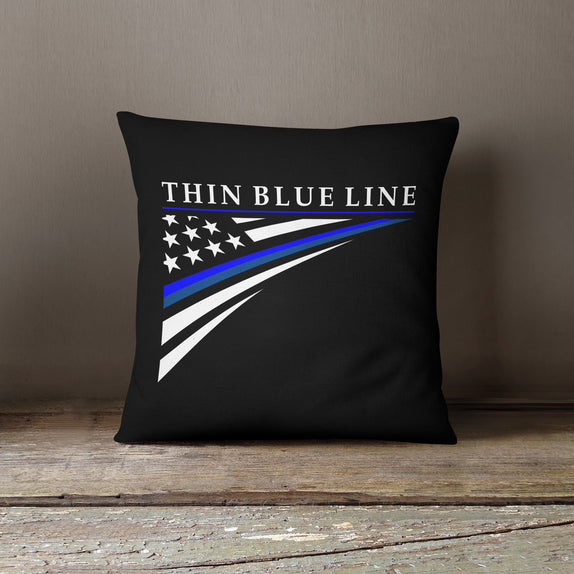 Thin Line Pillows - Corner Flag
