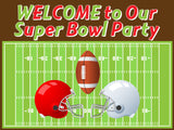 Superbowl Vinyl Place Mats