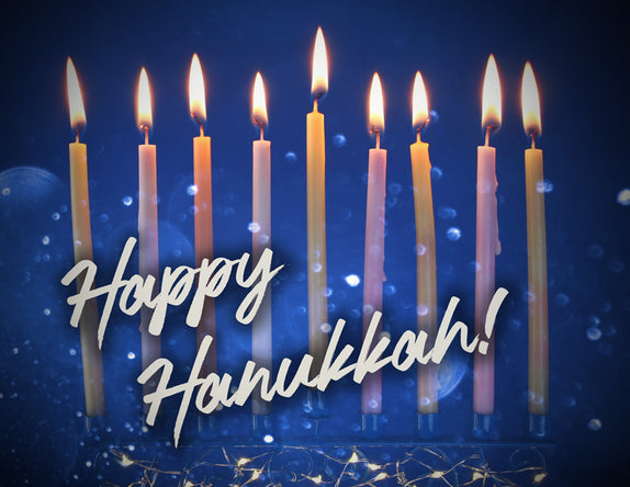 Happy Hanukkah Place Mats
