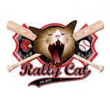 Rally Cat with Bats