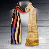 Thin Line Scarf - US Thin Line Flag & Constitution