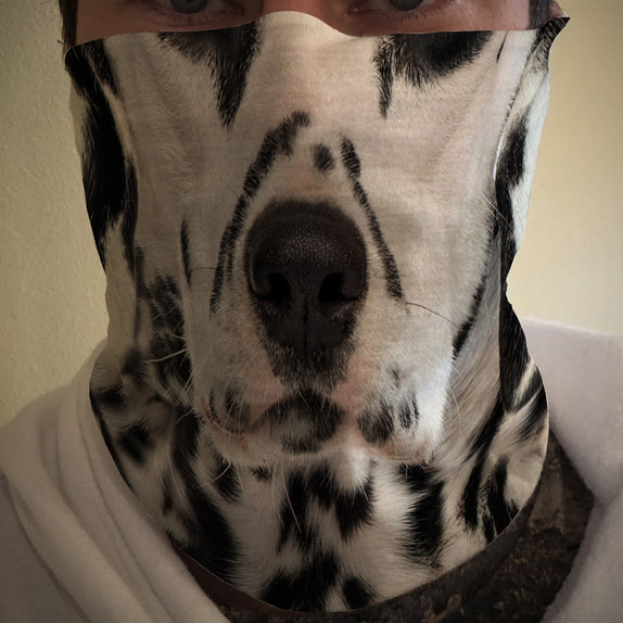 Face Cover - DOG - Dalmatian