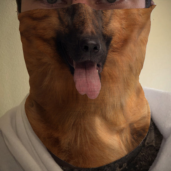 Face Cover - DOG - German Shepherd