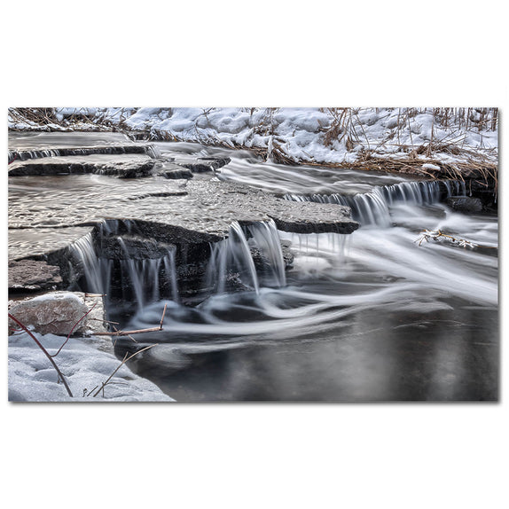 Winter Waterfall - 1
