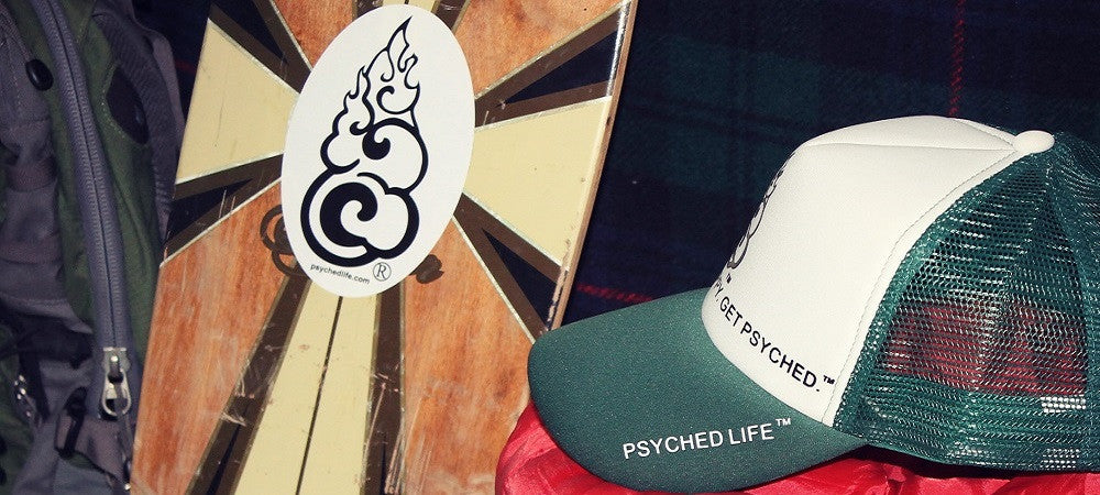 Psyched Life® Stickers