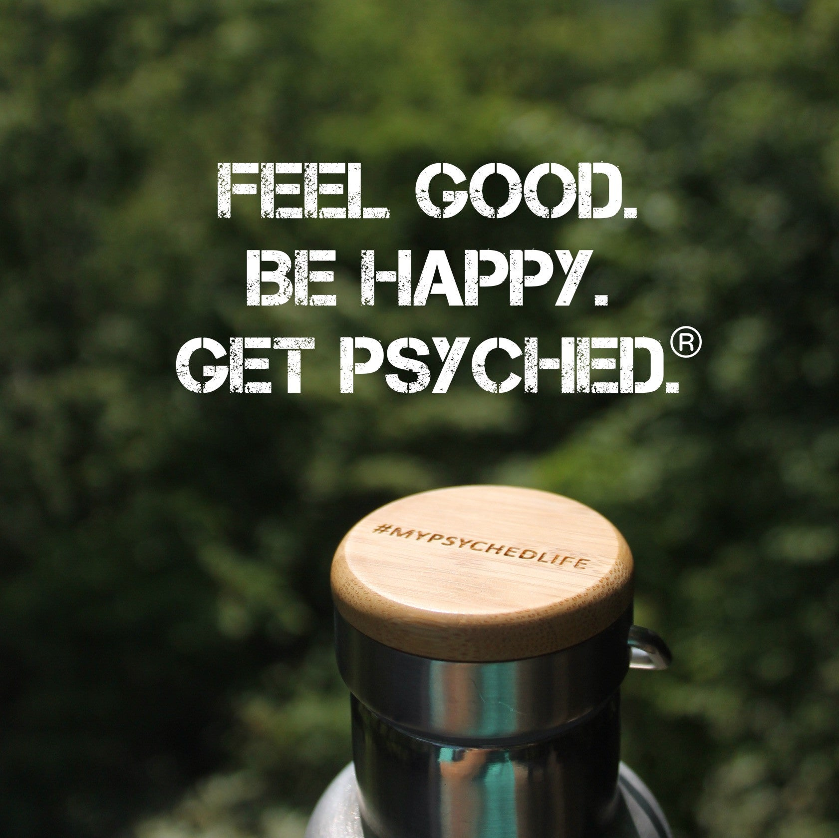 Psyched Life® Thermos Bottle