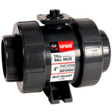 "Hayward TB Series True Union Ball Valves 2-1/2"" to 6"" PVC & CPVC - Process Flow Industrial Supply"