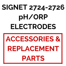 Signet 2724-2726 pH/ORP Electrodes (Accessories & Replacement Parts) - Process Flow Industrial Supply