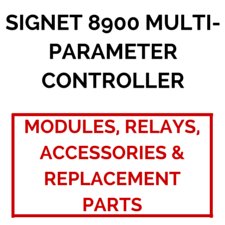 Signet 8900 Multi-Parameter Controller (Modules, Relays, Accessories & Replacement Parts) - Process Flow Industrial Supply