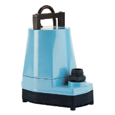 Little Giant 505000, 5-MSP Manual Submersible Utility/Sump Pump w/ 10' cord, 1/6 HP, 115 V, 60 Hz - Process Flow Industrial Supply