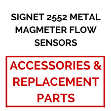 Signet 2552 Metal Magmeter Flow Sensors (Accessories and Replacement Parts) - Process Flow Industrial Supply