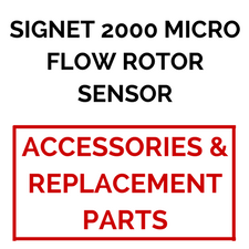 Signet 2000 Micro Flow Rotor Sensor (Accessories and Replacement Parts) - Process Flow Industrial Supply