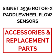 Signet 2536 Rotor-X Paddlewheel Flow Sensors (Accessories and Replacement Parts) - Process Flow Industrial Supply