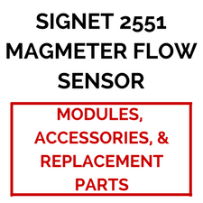 Signet 2551 Magmeter Flow Sensor (Accessories & Replacement Parts) - Process Flow Industrial Supply