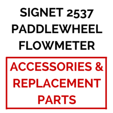 Signet 2537 Paddlewheel Flowmeter, Integral Mount (Accessories & Replacement Parts) - Process Flow Industrial Supply