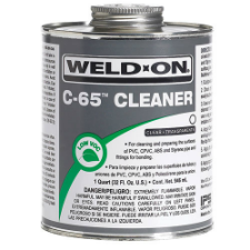 Weld-On C-65 Low VOC Cleaner - Process Flow Industrial Supply