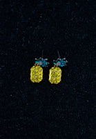"""Fineapple"" Earrings [YELLOW]"
