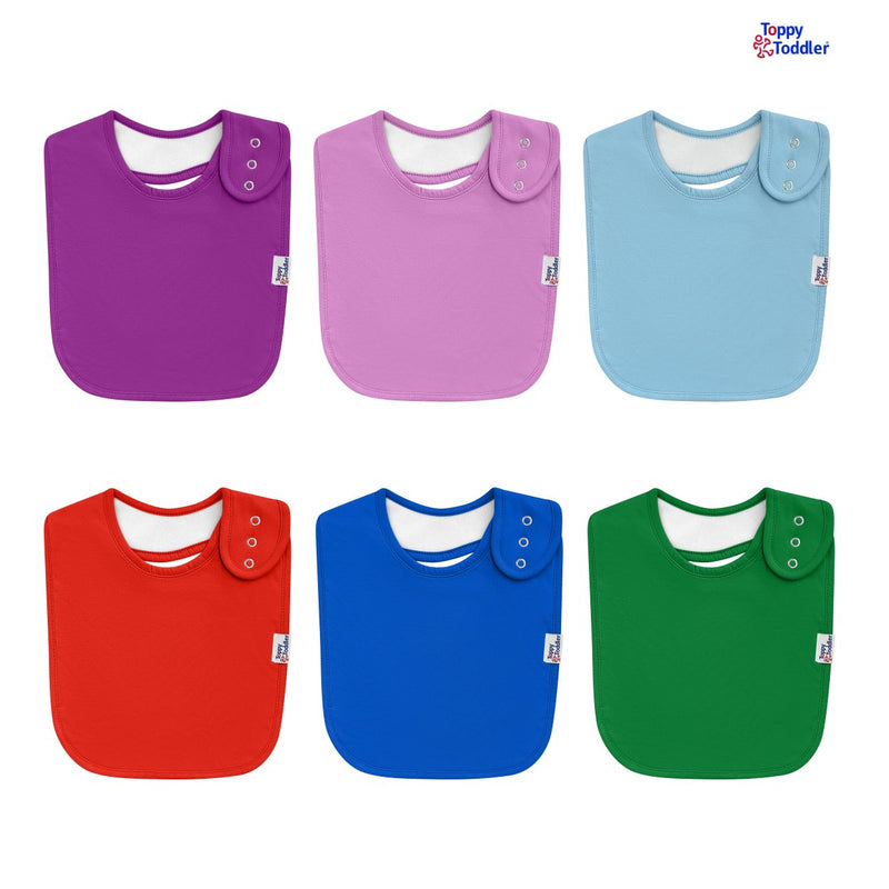 Soft Absorbent Cotton Baby Bibs
