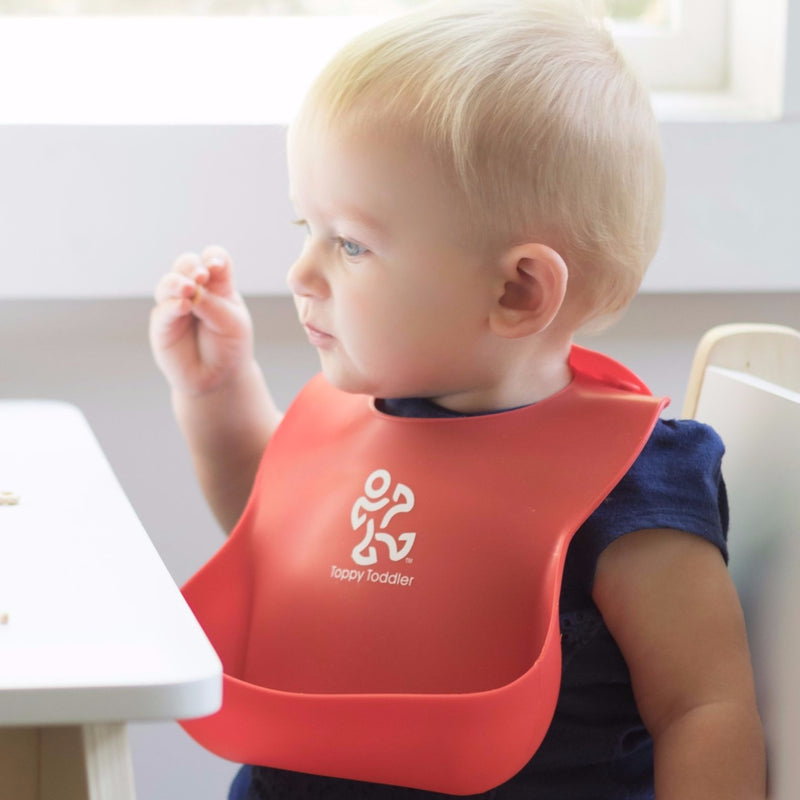 Easy Wipe Silicone Bibs