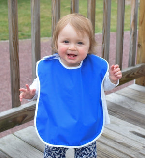 Wholesale Waterproof Bibs in Bulk for Toddlers with Snap Buttons