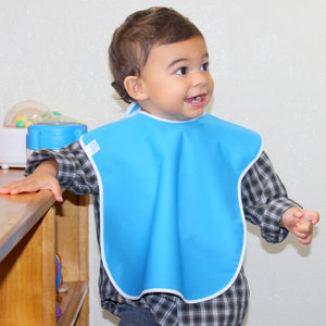 Waterproof Toddler Bibs, 12-Packs