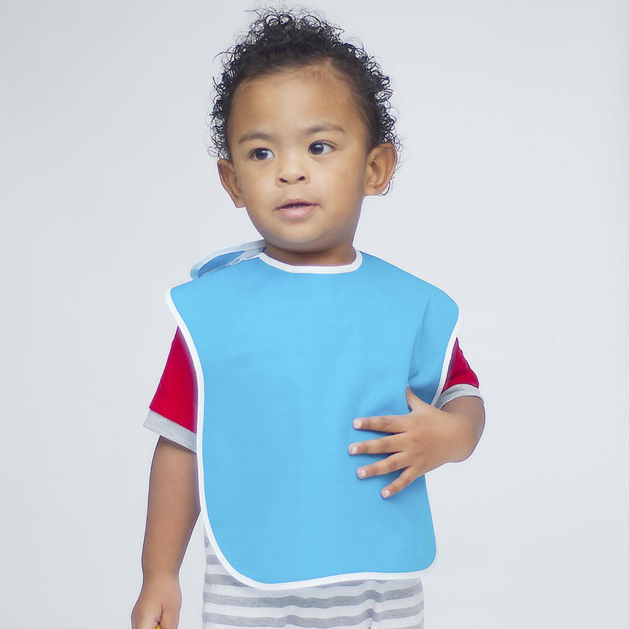 Large Waterproof Bibs for Toddlers (4 Pack)