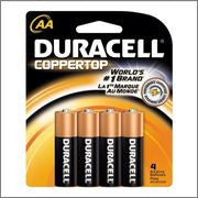 Duracell AA 4pk 12ct Bx