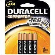 Duracell AAA 4pk 12ct Bx