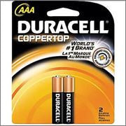 Duracell AAA 2pk 12ct Bx