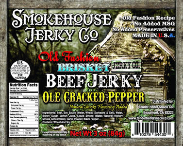 BRISKET GOURMET CRACKED PEPPER
