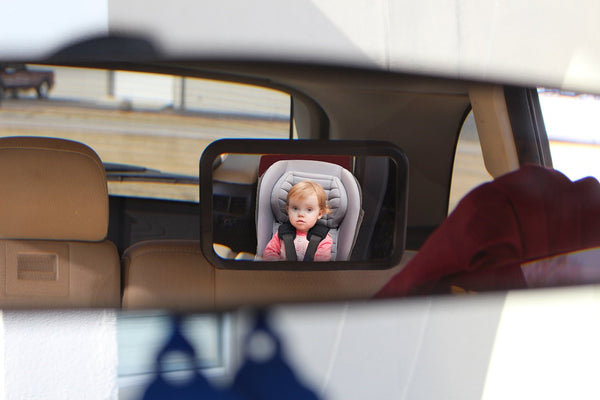 Baby Car Mirror for Back Seat - Rear Facing to See Babies