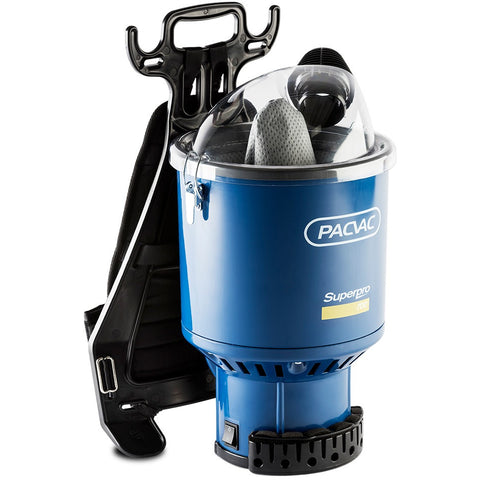Pacvac Superpro 700 Backpack Vacuum - CBC Cleaning Products Pty Ltd.