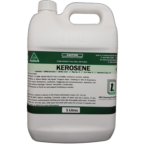 Kerosene - CBC Cleaning Products Pty Ltd.