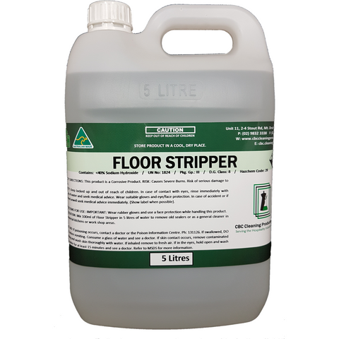 Floor Stripper - CBC Cleaning Products Pty Ltd.
