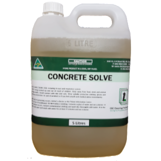 Concrete Solve - CBC Cleaning Products Pty Ltd.
