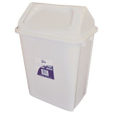 20L Swing Top Tidy Garbage Bin