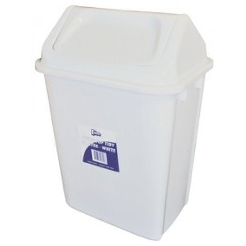 30L Plastic Garbage Bin with Lid - CBC Cleaning Products Pty Ltd.