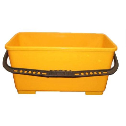 22L Window Bucket with Hooks - CBC Cleaning Products Pty Ltd.