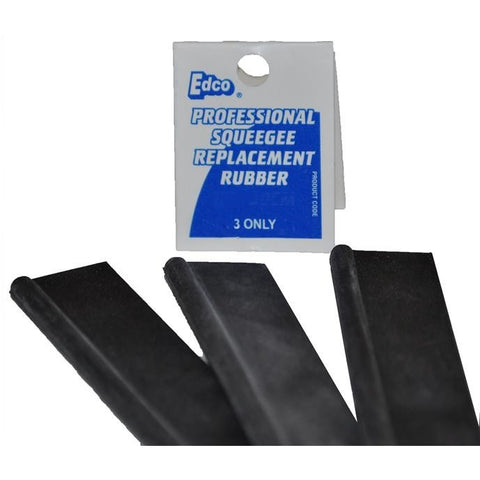 Edco Squeegee Replacement Rubbers - CBC Cleaning Products Pty Ltd.