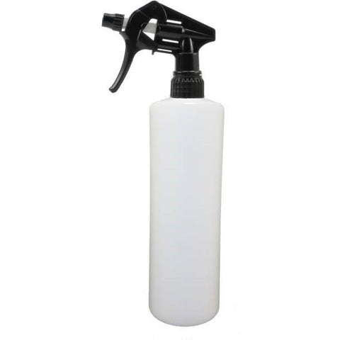 500ml Plastic Spray Bottle - Chemical Resistant Trigger - CBC Cleaning Products Pty Ltd.