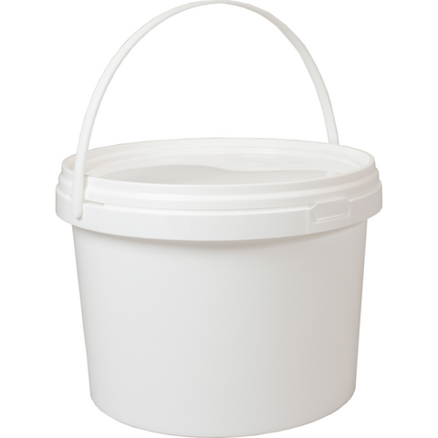Plastic Bucket 5L - CBC Cleaning Products Pty Ltd.
