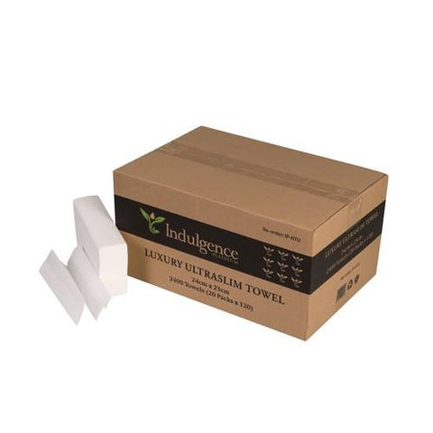 1 Ply Interleaf Ultraslim Paper Towels - Indulgence