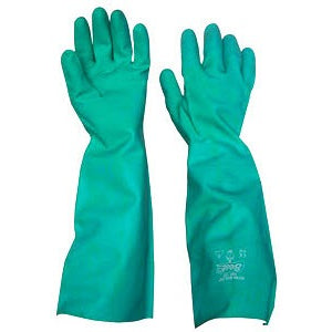 Nitrile 460 Gloves, Unlined, Solvent Resistant - Green - CBC Cleaning Products Pty Ltd.