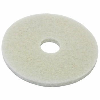 Floor Machine Pads - WHITE (Polishing) - CBC Cleaning Products Pty Ltd.
