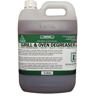 Grill & Oven Degreaser - CBC Cleaning Products Pty Ltd.
