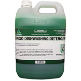 Bingo Dishwashing Detergent - Green - CBC Cleaning Products Pty Ltd.